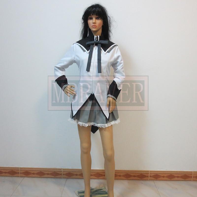 Akemi Homura Puella Magi Madoka Magica Magical Girl of Magus cosplay costume Kaname Madoka Cosplay