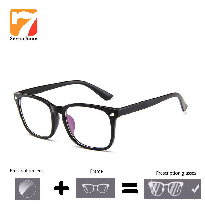 Classic Brand <font><b>Prescription</b></font> Eyeglasses <font><b>Men</b></font> Women Optical <font><b>Progressive</b></font> Photochromic myopia <font><b>glasses</b></font> Anti Blue <font><b>Prescription</b></font> <font><b>Glasses</b></font> image