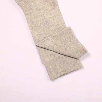 100% Cotton Business Casual Soft Socks Crew Men Ankle Dress Breathable Soft White Black Long Socks 5 Pairs