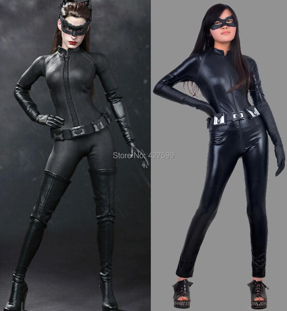 Hot Moive Batman The Dark Knight Rises Catwoman Cosplay Costume & Hot Moive Batman: The Dark Knight Rises Catwoman Cosplay Costume-in ...