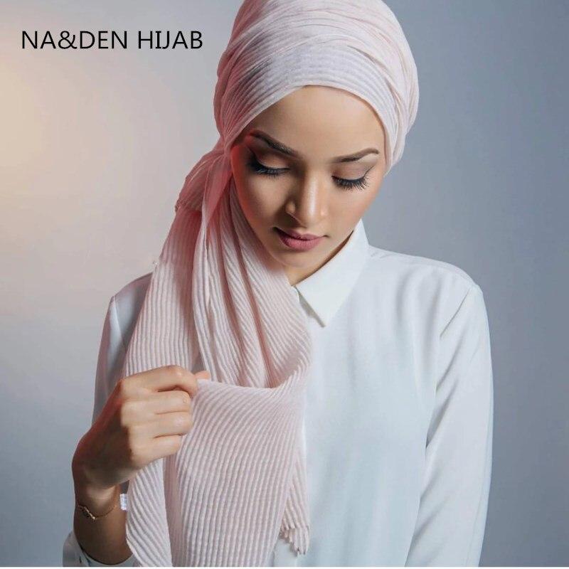 Hot sale oversize solid soft viscose crinkled warm women scarf scarves shawl muslim hijabs wraps echarpe