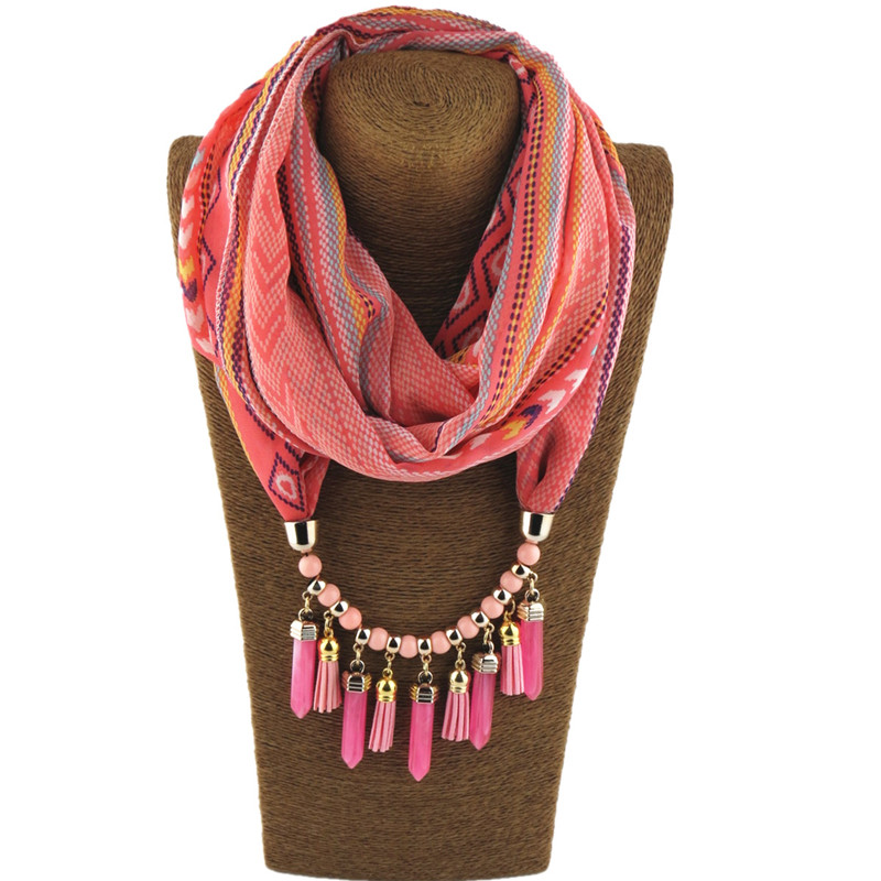 HTB1pN.eLIfpK1RjSZFOq6y6nFXaf - RUNMEIFA Multi-style Jewelry Statement Necklace Pendant Scarf Women Bohemia Neckerchief  Foulard Femme Accessories Hijab Stores