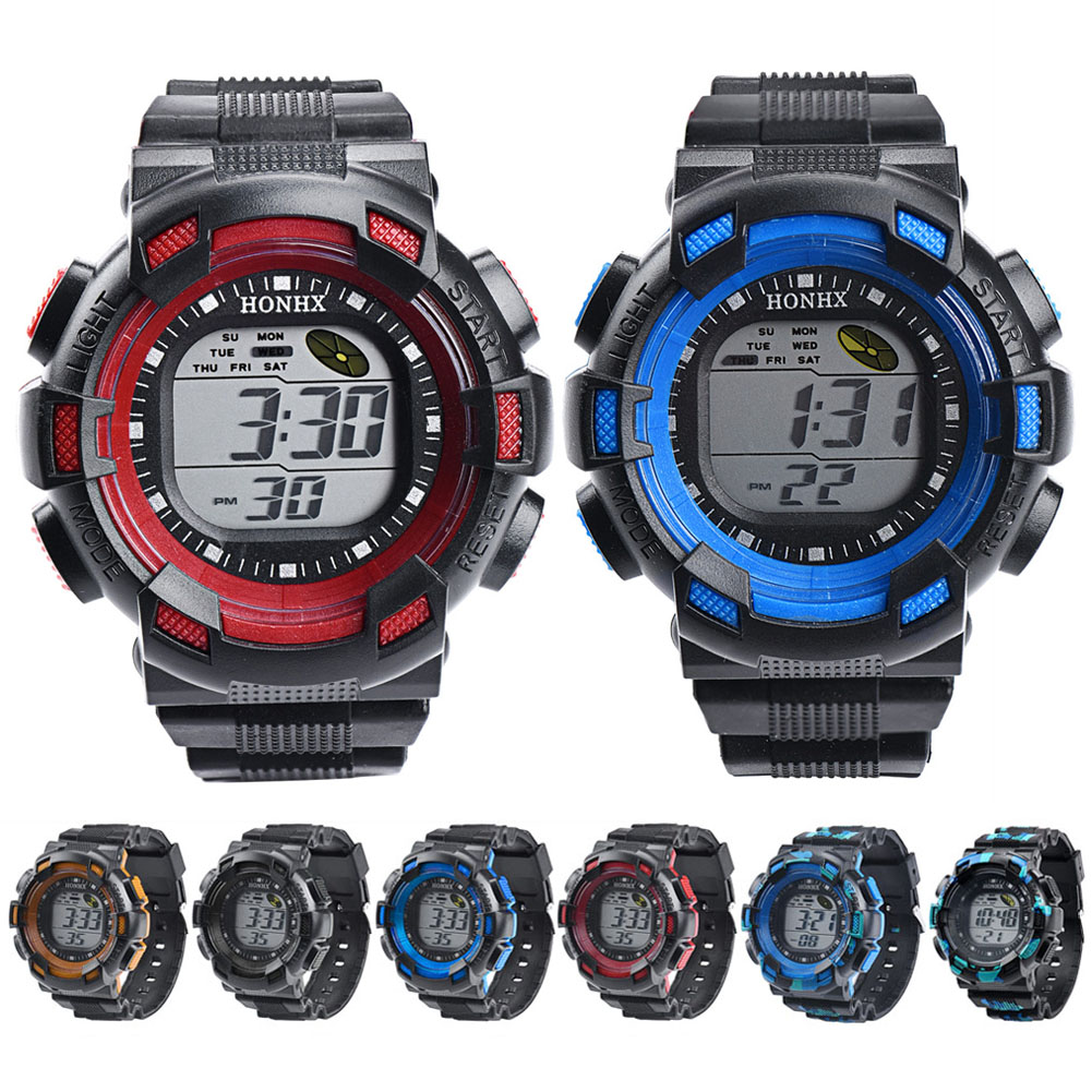 Outdoor Multifunction Waterproof Children watches Boys Girls Sports Electronic Watches Sport Digital Watch Casual Wristwatches children watches for girls digital smael lcd digital watches children 50m waterproof wristwatches 0704 led student watches girls page 2