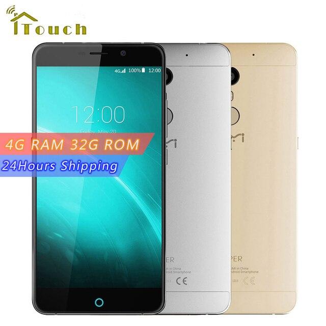 "Original UMI Super 5.5"" HD 4G LTE Smart Phone MTK6755 Octa Core Android 6.0 4GB+32GB Cellphone 1920*1080 IPS 4000mAh 13MP Camera"