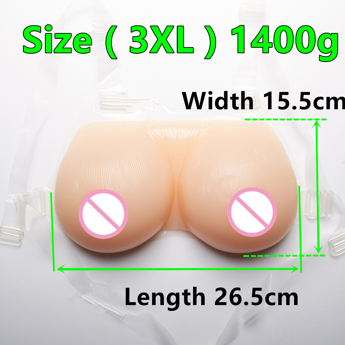 Artificial Silicone Fake Breast For Crossdressers And Transvestites 1400 g/pair D cup Silicone Breast forms Mastectomy цена 2017