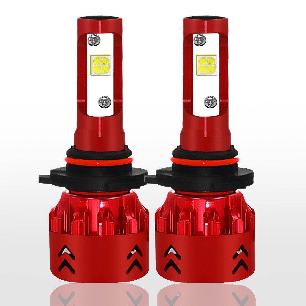 Светодиодный задний фонарь/9005/HB3/H10 Универсальный светодиодный фонарь безопасности передняя Светодиодная лампа высокой Мощность автомобиля