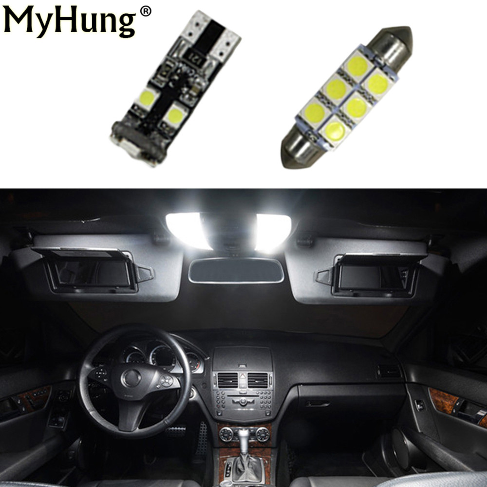 hight resolution of led interior light kit package for mercedes benz c class w204 c250 c300 c350 2008 16pcs in light bar work light from automobiles motorcycles on