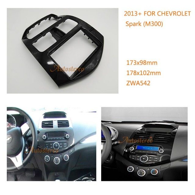 Car Radio fascia Panel Adapter for CHEVROLET Spark (M300)2013+ ...