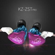 Новый KZ ZSTpor DD + BA тяжелых НЧ наушники, гарнитура Hi-Fi наушники гладить четыре ядра контроль обмена Bluetooth кабель ZSN ZSA ZS10