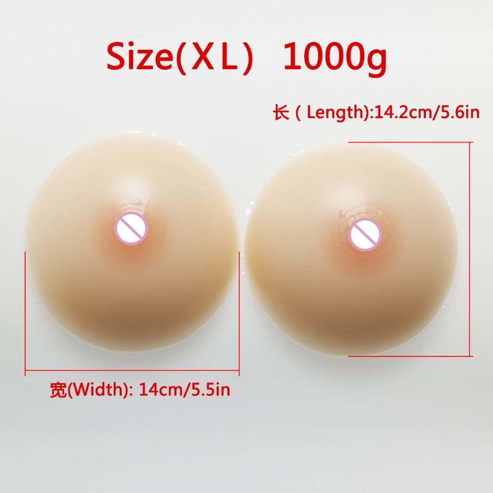 2017 Hot Sells Fake Silicone Breasts Forms Artificial Big False Boobs for Cross Dressing or Women Enhancements 1000g/pair hot sale pregnant fake silicone artificial belly for cross dressing or actor or model or women 1000g pcs 2 3 months jelly tummy