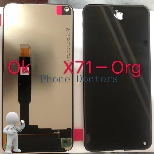 """6.39 """"עבור Nokia TA-1167 מלא LCD תצוגה + מסך מגע Digitizer עצרת עבור Nokia 8.1 בתוספת TA -1188 100% נבדק"""