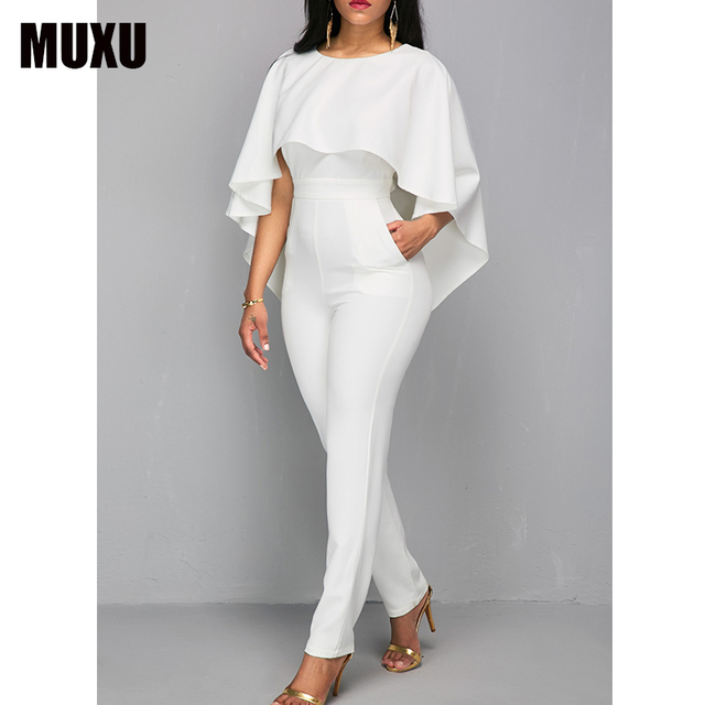 Rompers Womens Jumpsuit Body Bodies Woman White Jumpsuit For Women