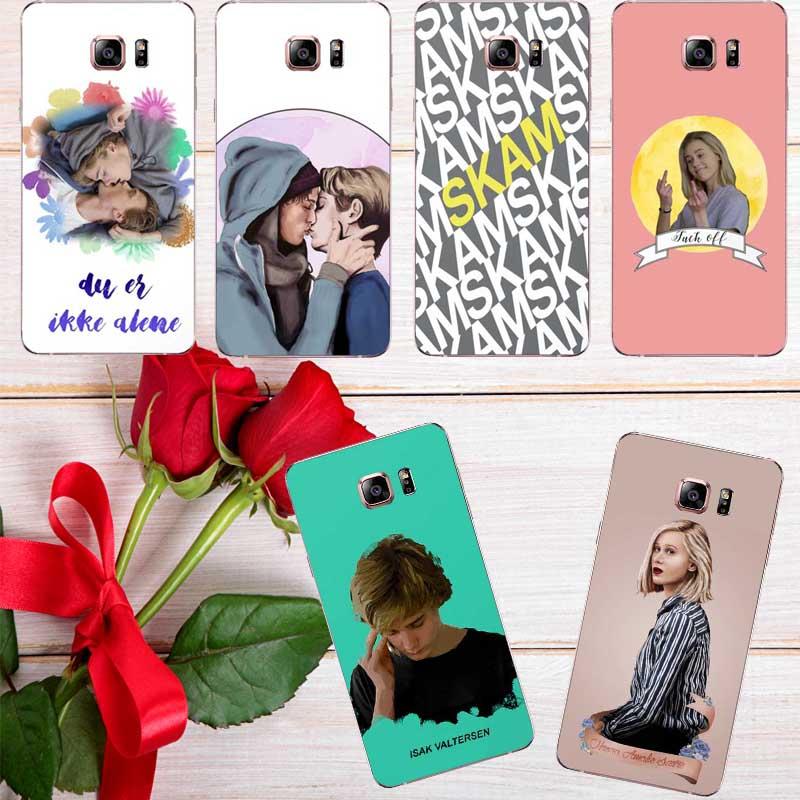 Fashion Norwegian Tv Skam Phone Soft Tpu Case Gay For Samsung Galaxy A3 A5 A7 J3 J5 J7 2015/2016/2017