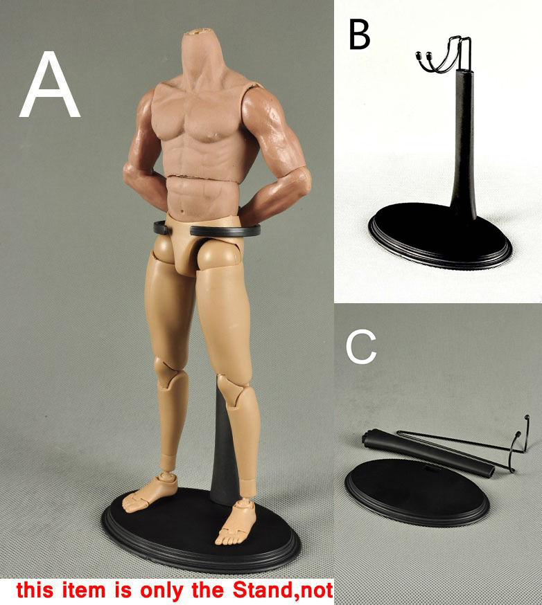 Action-Figure-Stand Body-Toy Display Plastic Star-Wars for 12-Platform-Fit Man B/c-Shape