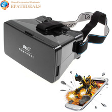 Head Mount Plastic Google Cardboard VR Universal Virtual Reality 3D Video Glasses for 3D Movies & Games 3.5-5.6″ Phone