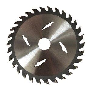 Image 3 - Hoge 1 Pc 125/110 Mm * 20 Mm 24T/30T/40T Tct Saw blade Hardmetalen Hout Slijpschijf Voor Diy & Decoratie Algemeen Hout Snijden