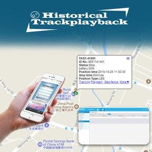 Image 5 - Gps 트래커 tk905 5000 mah 차량 추적 장치 자동차 gsm gps 로케이터 방수 자석 대기 90 일 웹 app 평생 무료
