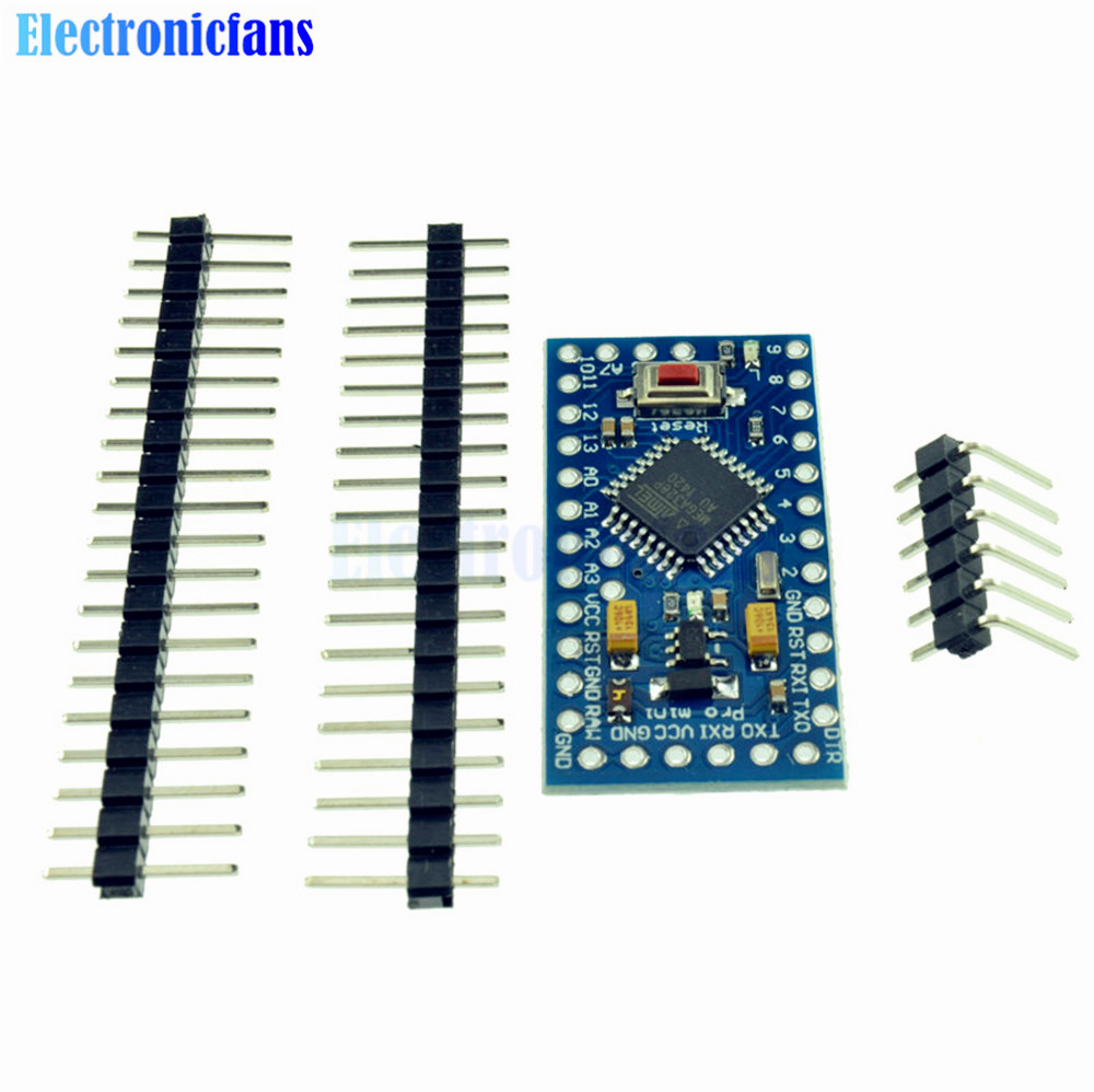 Pcs lot atmega pro mini v m board module for