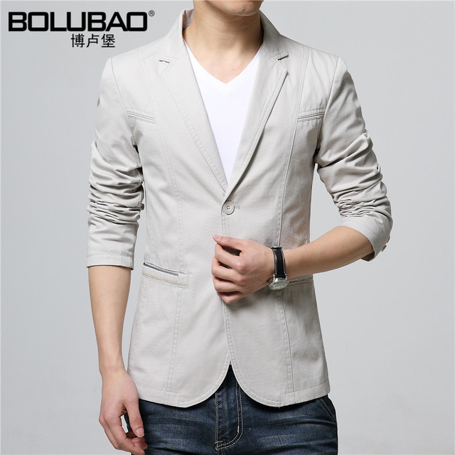 2016 New Arrival High Quality Brand Men Blazer Slim Fit Jacket Casual Fashion Mens Blazer Jacket Suit For Men Size M-3XL