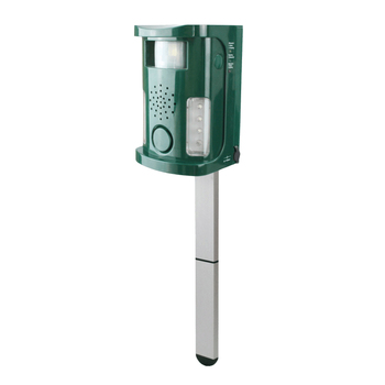 Free shipping aosion HOT Selling Multifunctional eletronic Dog cat bird repeller repellent PIR sensors ultrasound alarm flashing 8