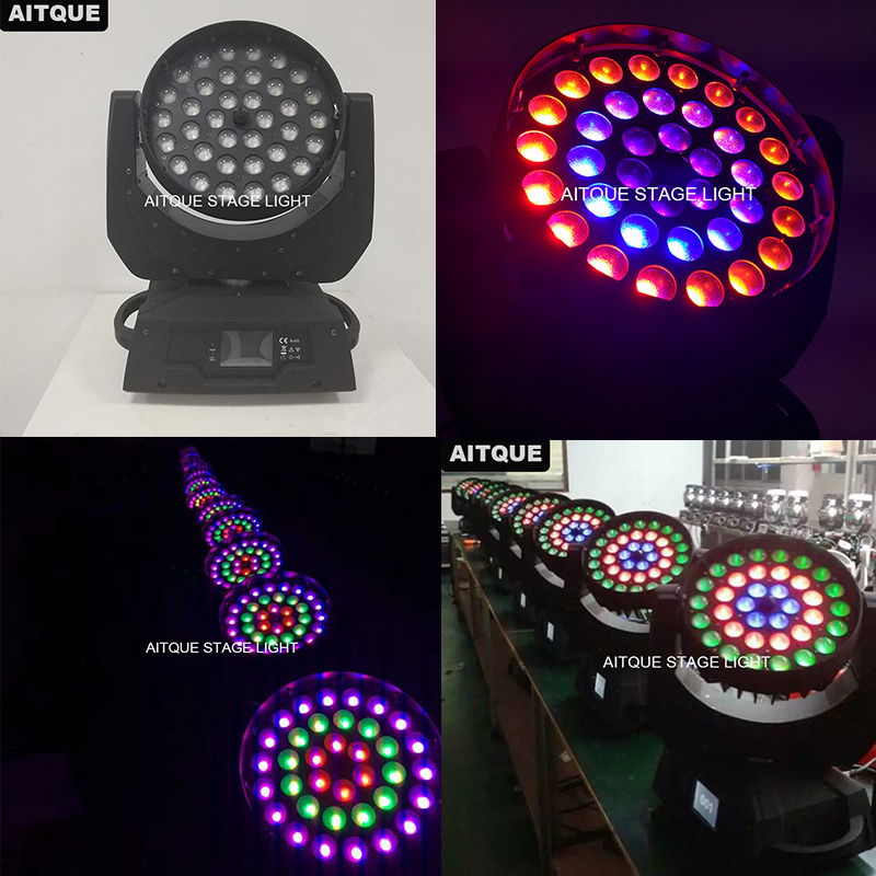 10lot China Stage Lighting Lyre Wash 36x18w Led Moving Head Copy Robe Moving Head Rgbwa Uv Zoomer
