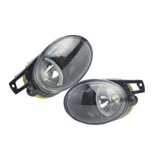 Image 3 - ANGRONG 45W מעודכן לבן LED פגוש קדמי ערפל אור מנורה עבור פולקסווגן פאסאט 3C B6 06 10 L & R