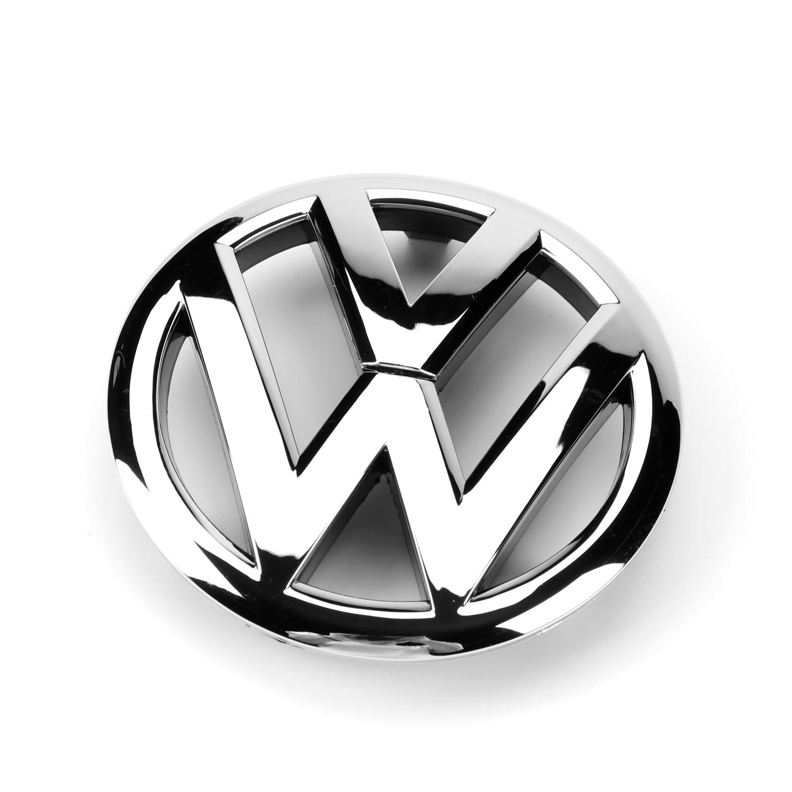 OEM 135 мм хромированная эмблема передней решетки радиатора 5K0 853 601 C автомобильные аксессуары значок Логотип Замена для VW Volkswagen Golf MK6