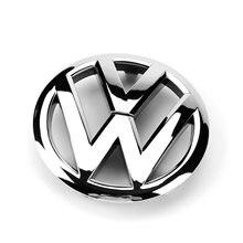 Oem 135mm frente chrome grade de radiador emblema 5k0 853 601 c acessórios do carro emblema logotipo substituição para vw volkswagen golf mk6