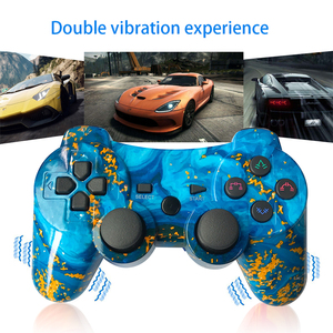 Image 2 - Bluetooth For Sony Playstation 3/ps2/pc Controller Wireless Gamepad Joystick For Playstation3 SIXAXIS Gamepads 12colour