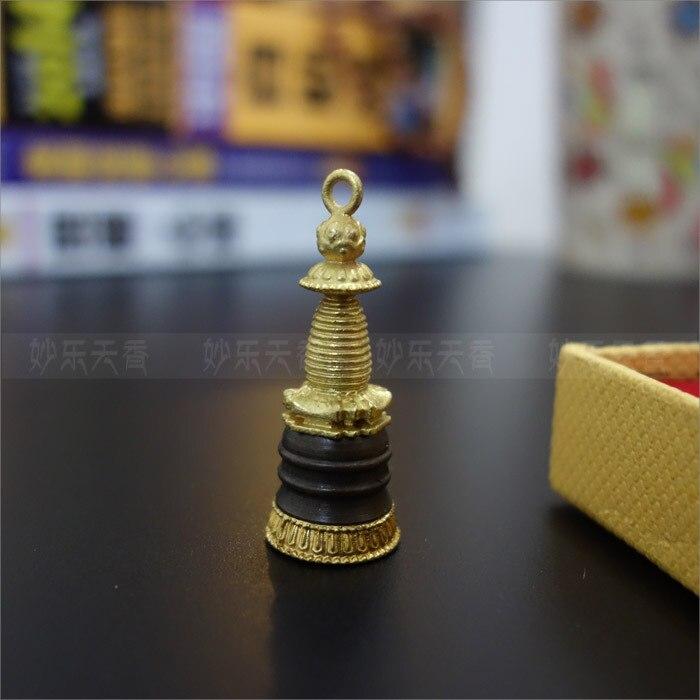 Медь буддийских кулон, мини Тибет ступа, избавиться от негативной энергии, хорошее качество Металлические изделия