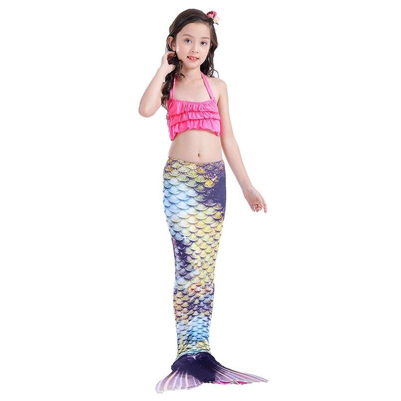 girls mermaidl tail vintage 4-1