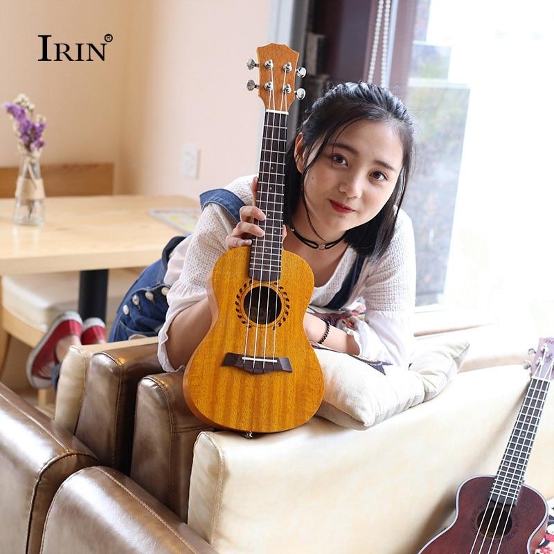 купить Strings Acoustic Ukelele 23 Mahogany Ukulele Concert 4 Strings Hawaii Guitar Rosewood Fingerboard Music Instruments Uku Hot по цене 4695.23 рублей