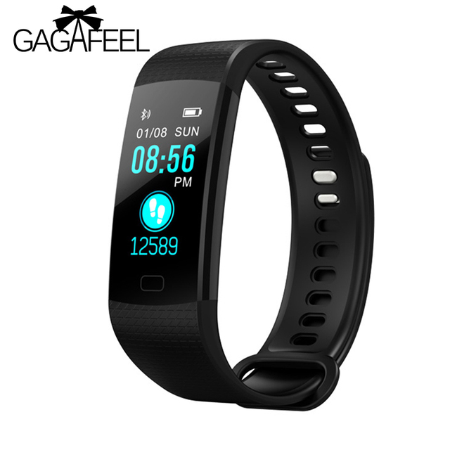 Gagafeel Y5 Smart Watch Pedometer Sports Fitness Wristwatch Blood Pressure Heart