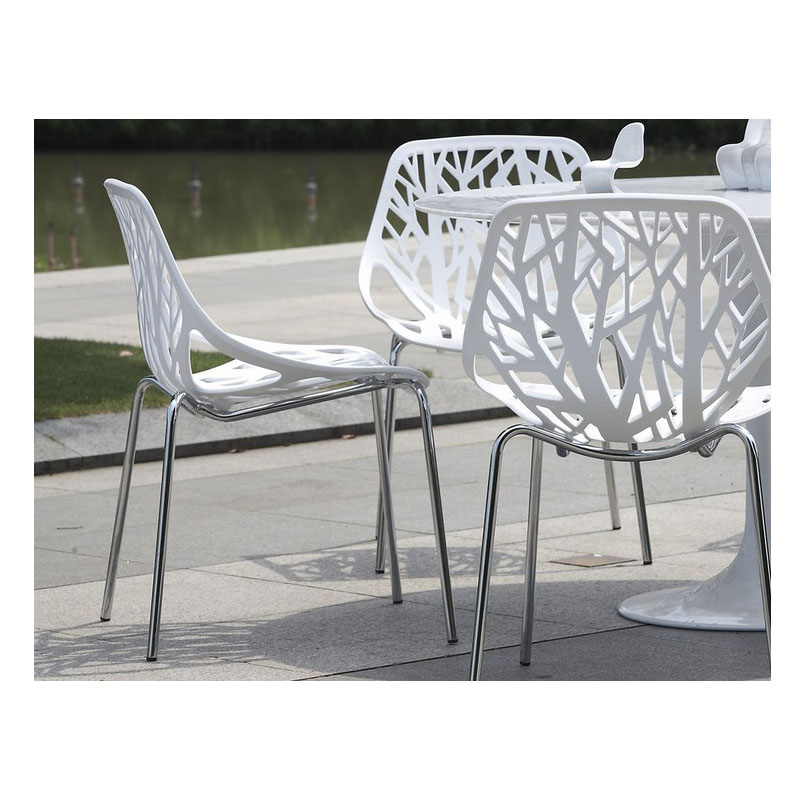 Furniture metal amp plastic dining chair waiting chair hollow chair