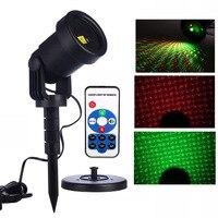 Thrisdar Moving Full Sky Star Outdoor Laser Projector Light Christmas Landscape Red Green Garden Laser Projector