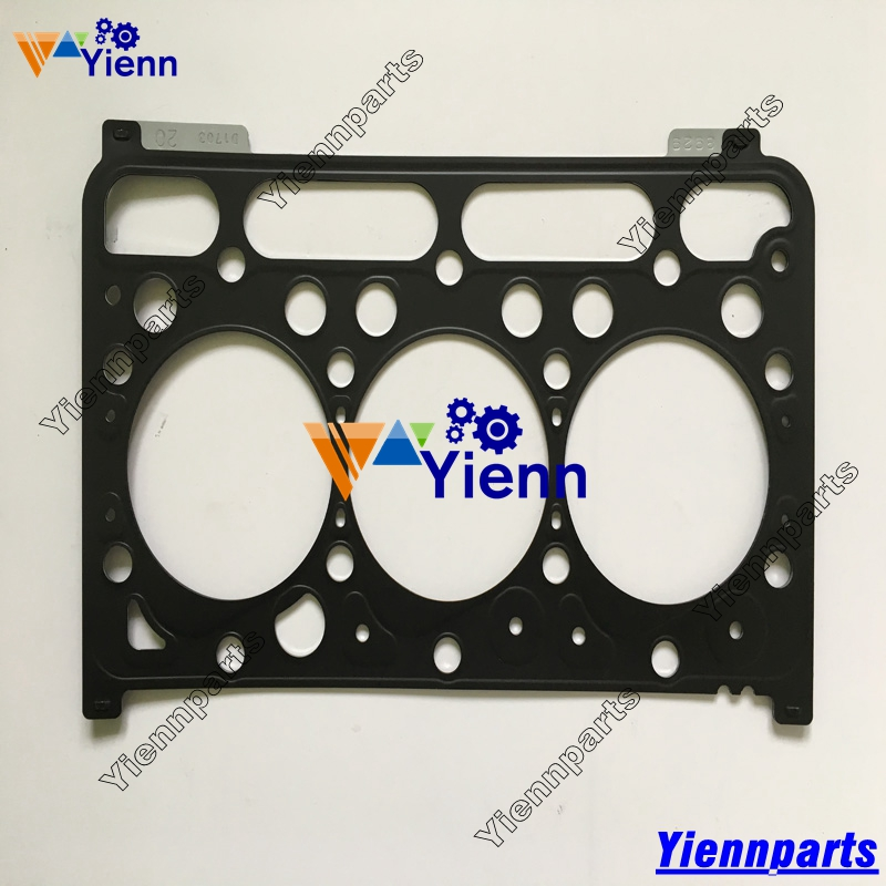 US $68 0 |Kubota D1703 D1462 Cylinder Head Gasket 1G720 03310 Steel made  for Kubota KX155 KX161 Excavator diesel engine parts-in Pistons, Rings,  Rods