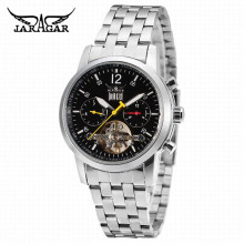 JARGAR Japanese Automatic Mechanical Watch Date Week 24hours Dsiplay Dial Mens Casual Wristwatches Male Business Montre