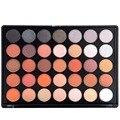 35 Tono de La Tierra de Color Café Desnuda Paleta Sombra de ojos Mate Sombra de Ojos Ahumados Kit de Maquillaje Profesional Completo