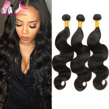 5 Bundle Deals Brazilian Virgin Hair Body Wave Unprcessed Grade 7A Brazilian Virgin Hair Brazilian Human Hair Weave Bundles