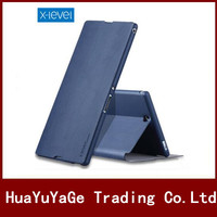 Phone Cases PIPILU X Level Ultra Thin Flip PU Leather TPU Stand Cover Case For Sony