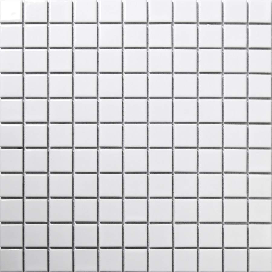 Square white ceramic mosaic tiles kitchen backsplash wall bathroom square white ceramic mosaic tiles kitchen backsplash wall bathroom wall and floor tiles matt and glossy both available in wallpapers from home improvement dailygadgetfo Gallery