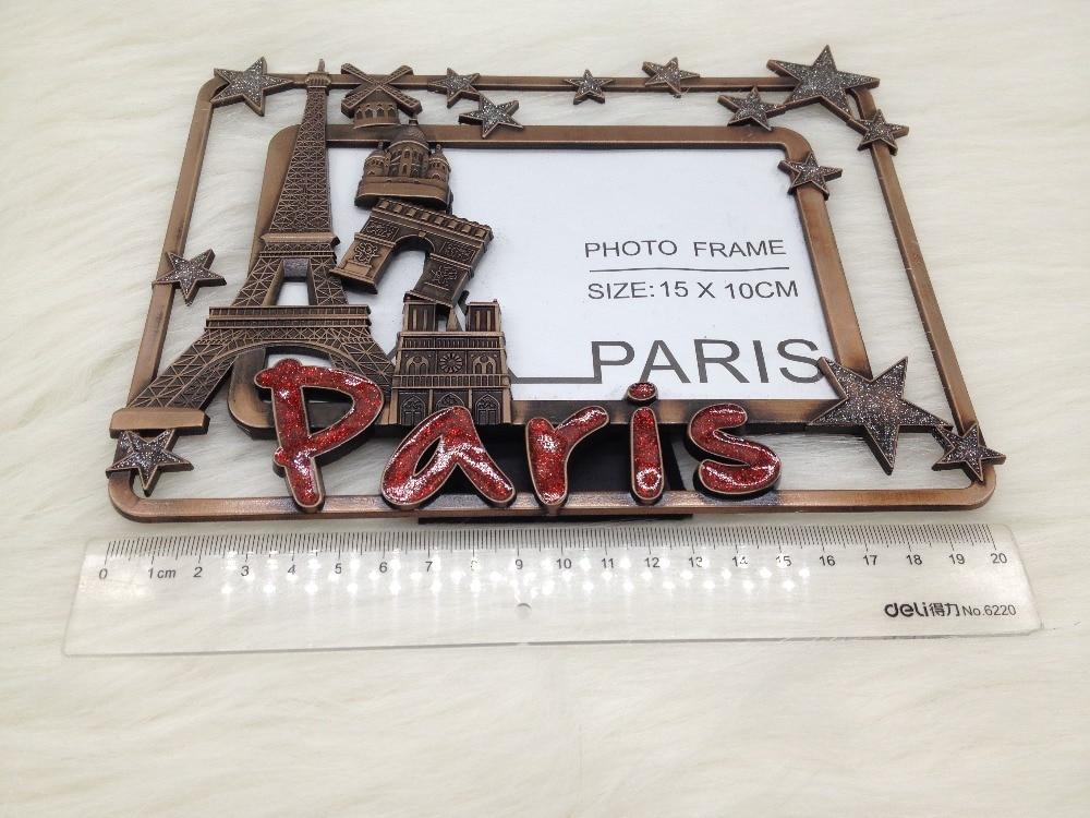 Wedding Favors Antique Copper Pariss Style Photo Frame Paris