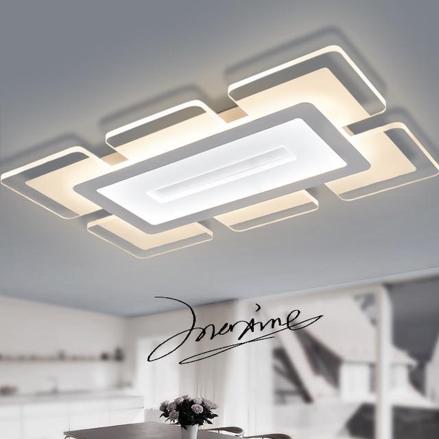 Moderne Led Deckenleuchten Fr Wohnzimmer Foyer Schlafzimmer Leuchten Lamparas De Techo Acryl Licht Design