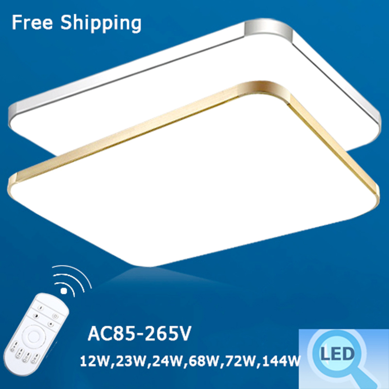 ФОТО 2016 Modern Led Ceiling Light Home Living Room Bedroom Led Ceiling Lamps Energy-saving Free Shipping