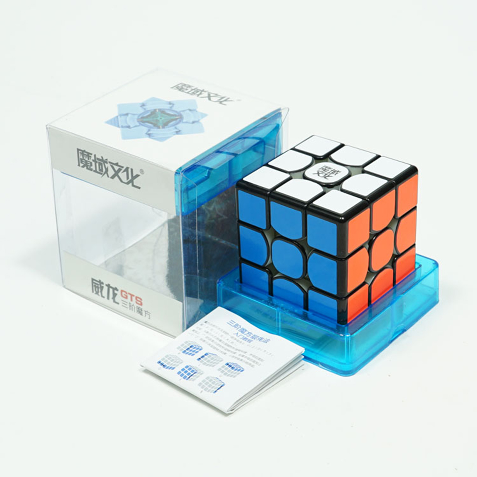 Image 5 - MoYu Weilong GTS 2M/Weilong GTS2 M/Weilong GTS2M Speed Cube Weilong GTS 2 Magico Pprofissional Toys For Children-in Magic Cubes from Toys & Hobbies