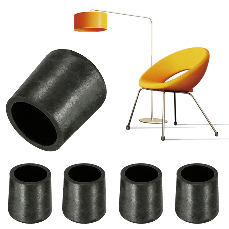 Rubber Chair Ferrule Anti Scratch Furniture Feet Leg Floor Protector Caps 4pcs P