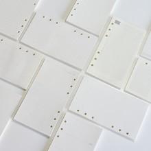 Pages intérieures de planificateur en papier d'impression sans bois A5 A6 A7, pour Filofax, carnet de notes de bureau créatif, remplissage en spirale, classeur