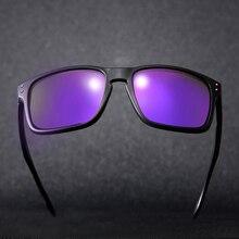 Espejo gafas de Sol Polarizadas de Los Hombres masculinos Cuadrado Viajes Deporte de Conducción Gafas de Sol de Las Mujeres Eyewear UV400 Oculos gafas de sol Con la Caja