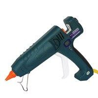 500W 110V 240V Temperature Adjustable Hot Melt Glue Gun Digital Display High Power Hot Gun Professional Industrial Glue Gun