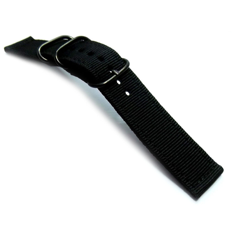Excellent Quality New Brand Nylon Military Army Fabric Wrist Watch Band Strap 20mm with All Watches Free Shipping